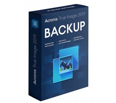 Acronis True Image 2019 Backup Restore Migrate to a another Drive SSD on 2GB USB