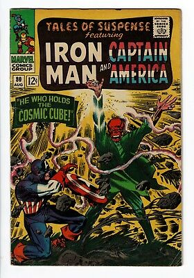 TALES OF SUSPENSE #80 (1966 Marvel), VG/FN 5.0 Classic Red Skull Kirby Cover