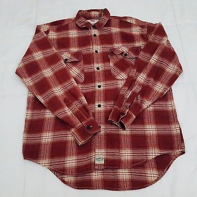 RED Levi/'s Long Sleeve  Men/'s  Casual Shirt 195860081