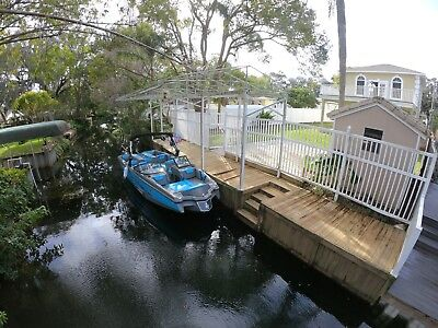Best Price! Canal Front House On Chain Of Lakes With Boat Dock! Huge Balcony!
