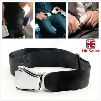Adjustable Airplane Seat Belt Plane Aircraft Seat Belt Extenders Professional UK