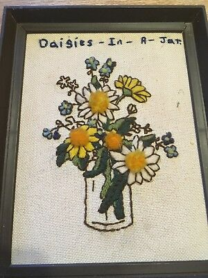 Embroided Framed Picture