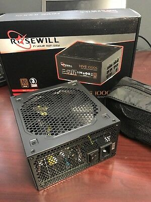 Rosewill Hive Series 1000W 1000S Modular Gaming Power Supply, 80 PLUS Bronze