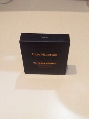 Bare Minerals Invisible Bronze Powder Bronzer. Medium. New