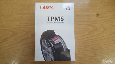 Busy G70-Sw02 Tpms Tire Pressure Monitoring System Solar Sensors Wireless Tyre