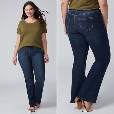 Lane Bryant Boot Jean T3 Tighter Tummy Technology NWT $80 - Size 20S