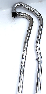 Triumph Tr6C High Level Exhaust Pipes  P U   Left Hand Side Uk Made. 71-0022/24