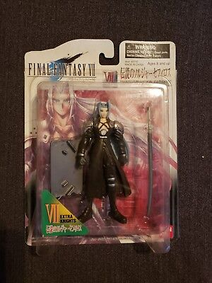 Final Fantasy VII Sephiroth Bandai Extra Knights FF7 Action Figure on Card