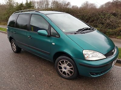 Ford Galaxy 'X' 2001 1.9TDI Manual 7 Seater Spares or Repair