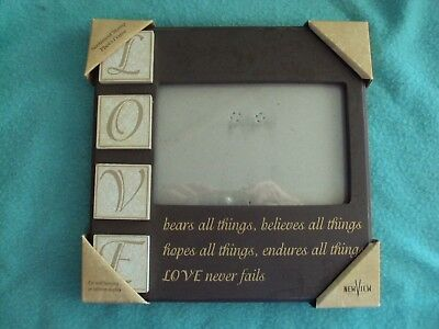 Love Picture Frame 1 Corinthians 137 New In Package 899