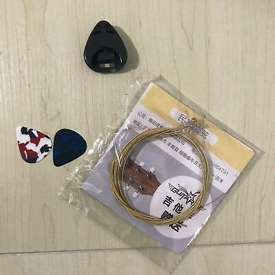 New! high quality Acoustic guitar strings with picks gift