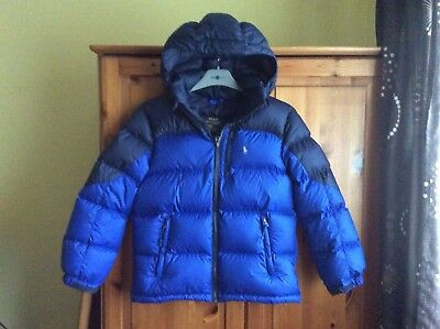Polo Ralph Lauren Boys Down&feather Quilted Coat Age 10-12 Years ( Medium)