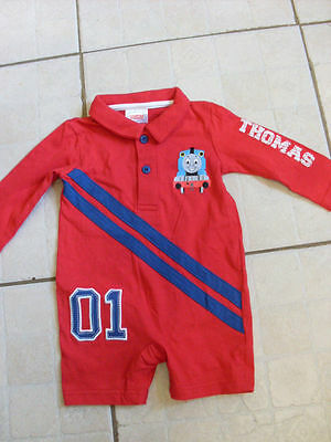 Thomas The Tank Engine 0-3 Mths Baby Grow   New..