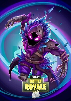 PS4 Fortnite game Photo Picture Poster Print Art A4