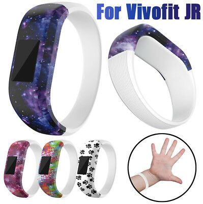 Casual Soft Silicone Replacement Wrist Strap Watch Band For Garmin Vivofit JR