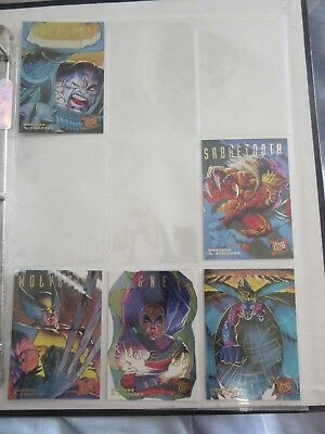 Fleer Ultra X-Men '95, Hunters Stalkers, 5 Chase Cards, Marvel, # 1, 6, 7, 8, 9