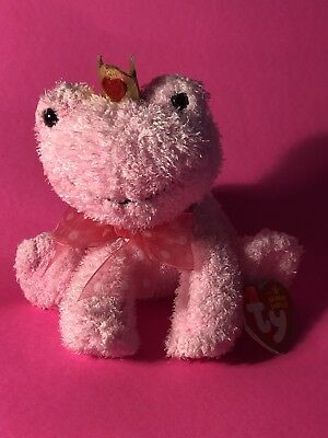 Ty Beanie Baby KISSABLE - the Valentine s Day Frog 940008c1457c