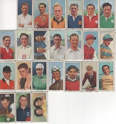 British Automatic Co (Weight).  23 Different Sportsmen. 1955.