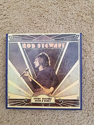 """ROD STEWART - EVERY PICTURE TELLS A STORY"" Vintage Reel to Reel Music Tape"