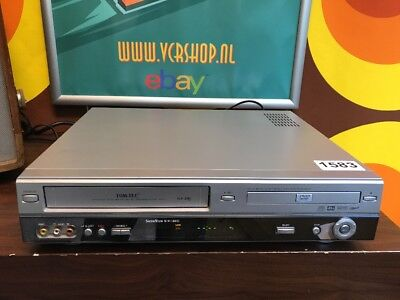 TOM-TEC DVHS-1 - VHS Recorder & DVD Player Combi 6 Head