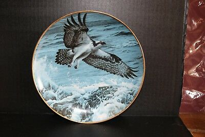 Above the Breakers-Winged Reflections Collection -Hamilton Collector Plate 1988