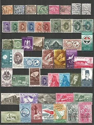 Egypt  nice SELECTION   mint/used stamps