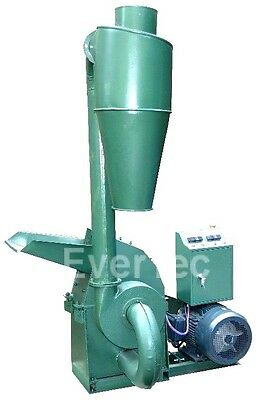 Hammermühle 7.5kw Straw Feed Mill Shredder Flour Mill Hammer Mill Cyclone