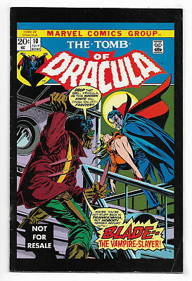 Tomb Of Dracula #10 Marvel Legends Edition Fine 1st Blade