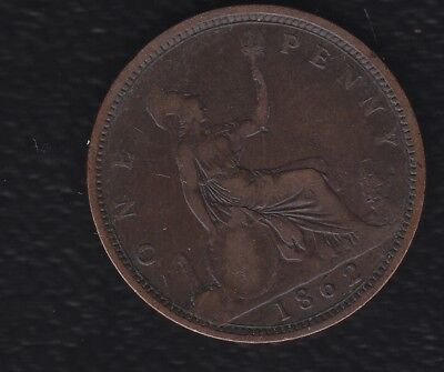 Great Britain 1 Penny 1862