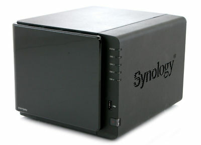 used Synology DS415Play Server NAS Network Storage with 4x2tb hard drive &movies