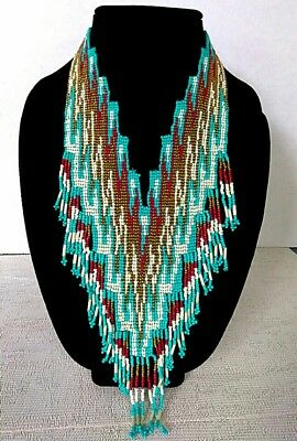 Rare Beautiful Native American Indian Handmade Necklace