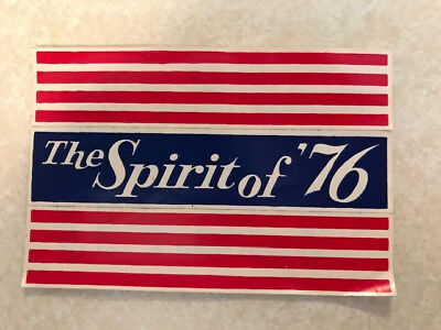 Cheerios Bicentennial Stars and Stripes Sticker - The Spirit of '76