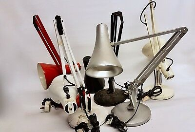 Vintage Herbert Terry Anglepoise Desk Lamps For Repairs