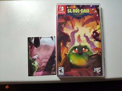Slime-San: Superslime Edition Limited Run Games #006 Nintendo Switch New Sealed