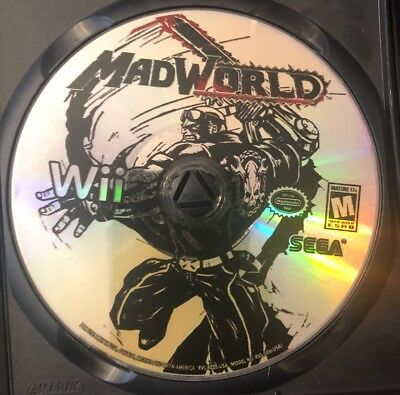 MadWorld (Nintendo Wii, 2009) Disc Only!!