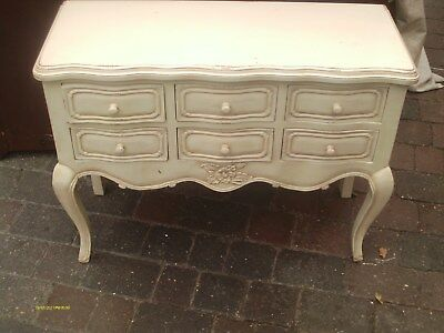 antique multi drawer sideboard