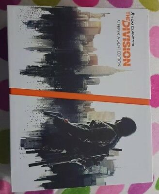 Tom Clancy The Division Sleeper Agent Edition EMPTY BOX