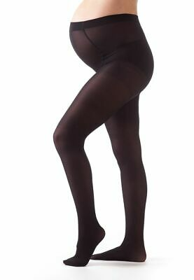 Bellissima Maternity Sheer Black Tights With Soft Waistband 50 Den