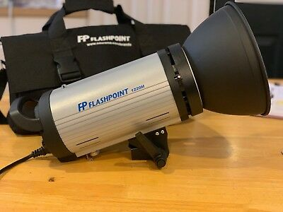 Flashpoint Solo Portrait 1220M MonoLight Kit with Rechargeable Battery Pack