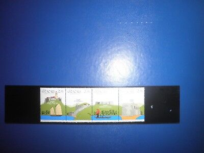 10Th Anniv Of Security Forces Mnh 1986 Sg 634-637
