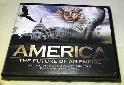 America: The Future of an Empire by Perry Stone (CD, 6-Disc Set)very Good Cond.