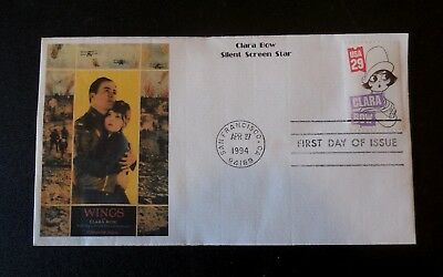 Clara Bow Silent Screen Star First Day of Issue 1994 envelope