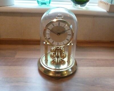 Vintage West German Anniversary 400 Day Clock all Parts Intact but Needs Repair.