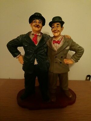 Laurel And Hardy Standing Statue