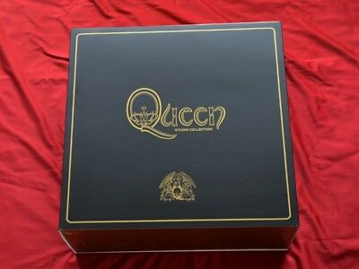QUEEN Studio Collection NEW Limited 18 x Vinyl LP Box Set Virgin EMI Records