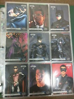 1995 Fleer Ultra Batman Forever - Complete 120 Card Set - NM Condition