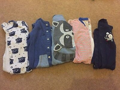 Boys Baby Grows 9-12 Months Next Bundle