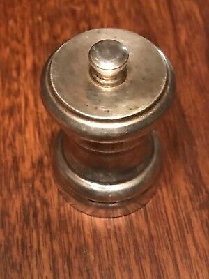 Estate Sterling Silver Pepper Grinder Made in Italy 🇮🇹 Not Scrap 79 Grams