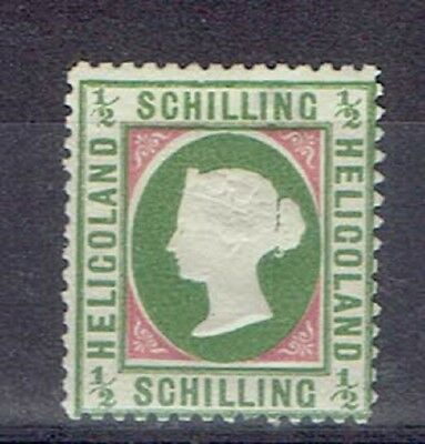 Germany Heligoland, British Terr. Period, MLH 1/2 Sch. Embossed Stamp, Lot No. 8