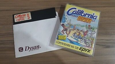 California Games Tape   - +  DISK Version  Commodore 64 128 Disk